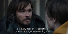 """ But every decision for something is a decision against something else"" #Dark #Netflix #subtitles #quotes #tvshow"