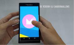 BlackBerry Priv: Versión beta de MarshMallow en esta semana