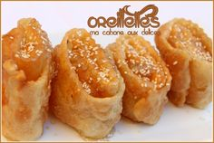 Oreillette algerienne / Khechkhach Arabic Sweets, Oreo Cheesecake, Everyday Food, International Recipes, Easy Cooking, Biscuits, Macaroni And Cheese, Deserts, Good Food