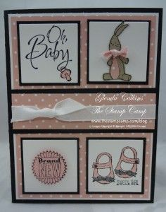 Stampin' Up! Baby We've Grown | The Stamp Camp