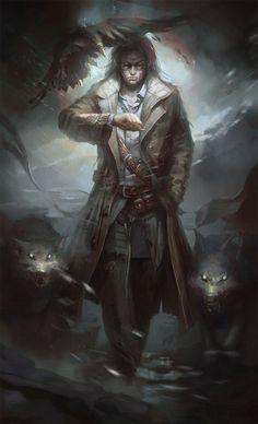 #fantasymen #dhampir #ranger