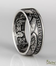 Come browse through our unique handmade coin rings!