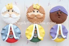 Ideas para decorar tus cupcakes de Navidad