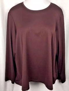 4f3da26c0604ee Susan Graver Womens Top Blouse Plus Size 3x Made in USA Micro Polyester   SusanGraver