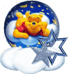 A Glitter Graphics image from glitter-graphics.com Walt Disney Winnie-the-Pooh _ JUANITA PEACHLAND ♡ ♡ ♡ ♡ ♡