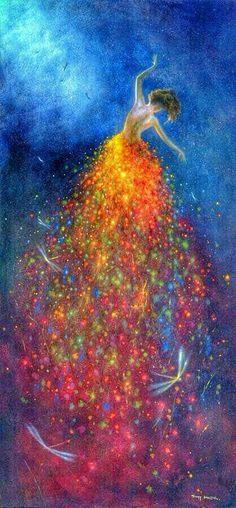 Jimmy Lawlor ~ Dragonflies Night #Amazing #Artwork