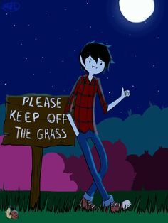Marshall Lee what a bad boy