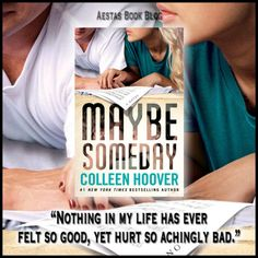 Goodreads | Maybe Someday by Colleen Hoover — Reviews, Discussion, Bookclubs, Lists
