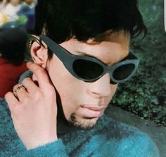 Prince in blue.
