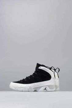 uk availability 2ea20 054d2 AIR JORDAN RETRO 9 LOS ANGELES ALL STAR MENS SHOE - BLACK SUMMIT WHITE GOLD