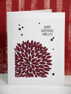 my inky corner: And here is the card!