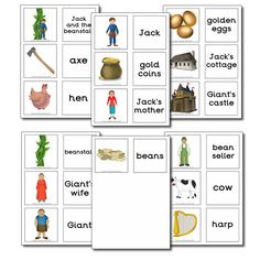 jack and the beanstalk activities | Jack and the Beanstalk Teaching Resources - Once Upon a Time Resources ...