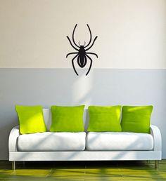 Spinne Spider Netz Insekt Tier Wandtattoo (075.0409)