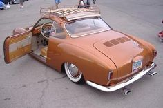 VW Karmann Ghia 55-74 Sliding Ragtop
