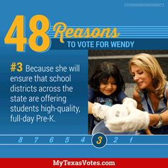 On Tuesday, vote for the candidate who won't choose pick and choose which children get Pre-K and which don't.