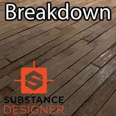 Wood Floor Breakdown - Substance Designer