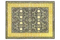 4'x6' Cadence Rug, Green Gold/Ivory on OneKingsLane.com | 665.00 retail.