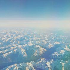 Flight over the Rockies | Alberta and British Columbia | Photo by Reddit /u/AdmiralAntilles! by campcanada