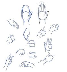 Manga Drawing Techniques There are many techniques to draw hands, but my favorite is the mitten technique. Start with a basic shape and the thumb, and then draw the fingers in. Drawing Anime Hands, Nose Drawing, Manga Drawing, How To Draw Anime Eyes, Draw Eyes, Cartoon Tutorial, Drawing Techniques, Drawing Tips, Drawing Ideas