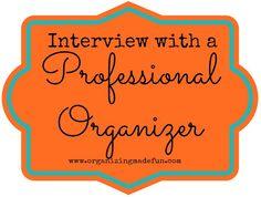 Interview with a Professional Organizer: Aby Garvey | OrganizingMadeFun.com