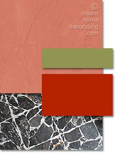 Tuscan paint colors: 7 Tuscan color schemes from typical, authentic Tuscan colors.