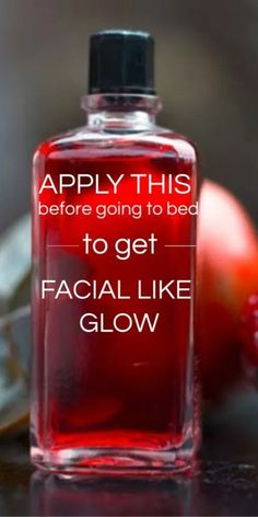 Beauty skin care routine - Apply this before going to bed to get facial like glow on your face in morning Beauty Care, Beauty Skin, Beauty Hacks, Face Beauty, Diy Beauty, Beauty Advice, Beauty Ideas, Beauty Guide, Homemade Beauty