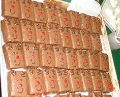 Chocolate Reindeer Rice Krispies