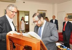 Luca Ceriscioli riceve l'ambasciatore della Repubblica d'Armenia