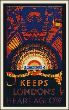 London Underground Poster   TFL   Keeps London's Heart Aglow  http://www.roehampton-online.com/About%20Us/Roehampton%20London.aspx?4231900