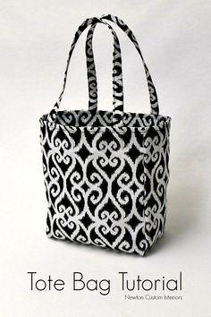 Easy Tote Bag Tutorial
