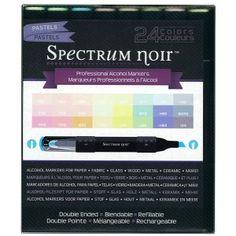 New Generation Spectrum Noir Alcohol Ink Markers Pastels 24 Markers