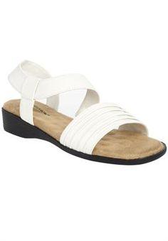 Discount On Kim Pleated Sandal