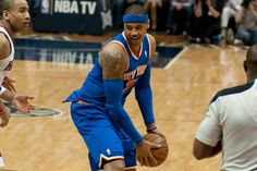 Report: Bulls and Rockets Top Options For Carmelo Anthony Next Season