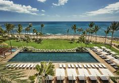 Adult Pool at Four Seasons Resort Oahu at Ko Olina #Hawaii #travel