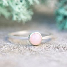 Delicate pink opal much more beautiful in person than I will ever show on my pictures. I'm wearing it right now no doubt  #keepityours