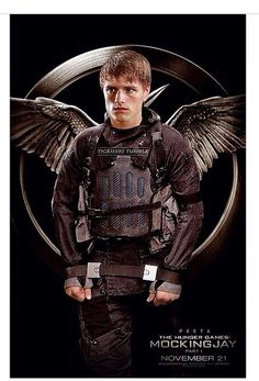 What people wanted to see is peeta and katniss.... Here is Peeta Mellark.
