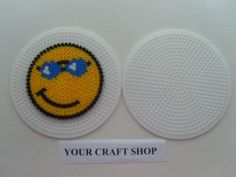 Smiley hama perler beads