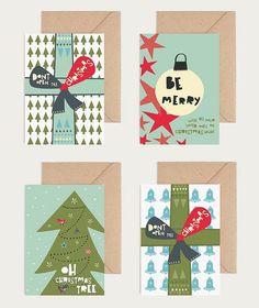 Christmas card - kerstkaart by Heedopter