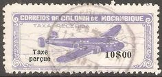 Mozambique 1947 10$00.