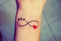 97 Amazing Infinity Tattoo Ideas, 75 Endless Infinity Symbol Tattoo Ideas & Meaning 55 Lovely Infinity Tattoo Designs for the Endless Loves, 75 Endless Infinity Symbol Tattoo Ideas & Meaning 60 Best Friend Tattoo Ideas for You to Love Tats N Rings. Small Heart Wrist Tattoo, Meaningful Wrist Tattoos, Small Heart Tattoos, Wrist Tattoos For Women, Small Tattoos For Guys, Tattoos For Daughters, Tattoo Small, Small Infinity Tattoos, Infinity Tattoo On Wrist