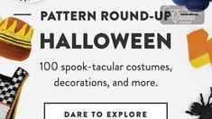Yarnspirations nows have over 100 Halloween Patterns in their collection for crocheters and knitters alike. From spooky to giggly ideas. Crochet Hat Size Chart, Granny Square Crochet Pattern, Crochet Hook Sizes, Caron Cakes Crochet, Crochet Crowd, Free Crochet, Caron One Pound Yarn, Bernat Yarn, Halloween Crochet Patterns