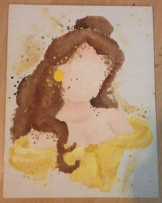 Items similar to Disney Beauty and the Beast Belle Abstract Painting on Canvas on Etsy Disney Canvas Paintings, Canvas Art, Canvas Ideas, Painting Canvas, Painting Abstract, Acrylic Paintings, Disney Princess Art, Disney Art, Punk Princess