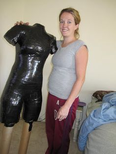 Shannon Makes Stuff: Duct Tape Dress Form