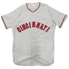 Cincinnati Tigers 1937 Road Jersey