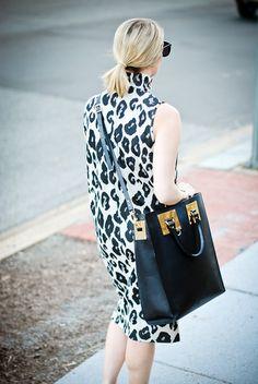 Oversized Leopard & Sophie Hulme...