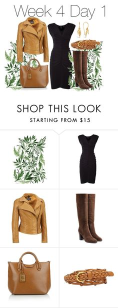 """Week 4 day 1"" by sanglierspore on Polyvore featuring mode, Norma Kamali, Sergio Rossi, Lauren Ralph Lauren, FOSSIL, Dinny Hall, everyday, neutral et outfits"
