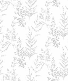 Tapet Area Silveräng - Vita tapeter - Rusta Hall Wallpaper, Doll House Wallpaper, Interior Wallpaper, Textures Patterns, Print Patterns, Charcoal Wallpaper, Scandinavian Wallpaper, Photo Texture, Botanical Wallpaper