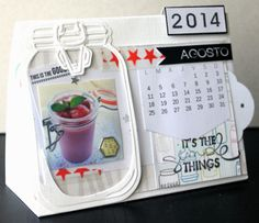 """cOminscrap: Taller """"Calendario 2014"""""""