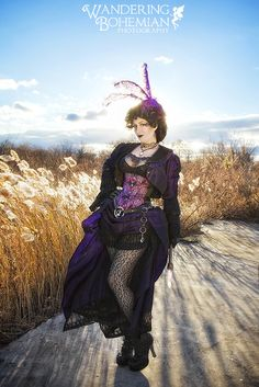 Photo by Ivy Darling http://www.wanderingbohemian.com/ as seen in Gearhearts Steampunk Glamour Revue vol 8. All 8x10 prints are a luster finish that is finger print and smudge free, they are also watermark free and custom signed.
