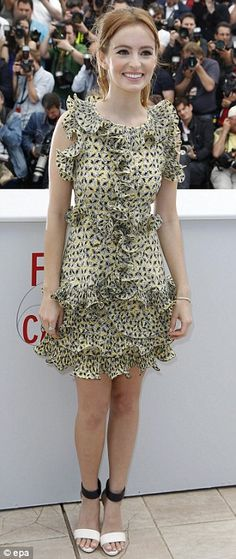Ahna O'Reilly in Marni | 2013 Cannes